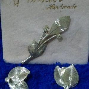 Princess Jewelry Jewelry - Princess pin and earrings